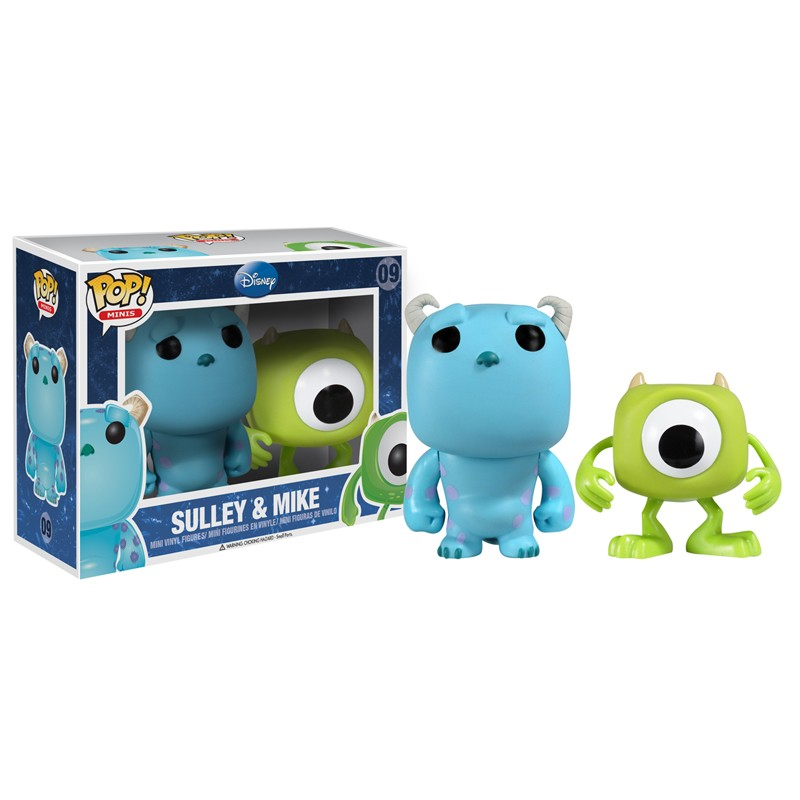 """Disney Pixar Monsters University 3 Piece Room In A Box: Funko Pop Disney Series Combo Packs, 9"""", And Domes"""