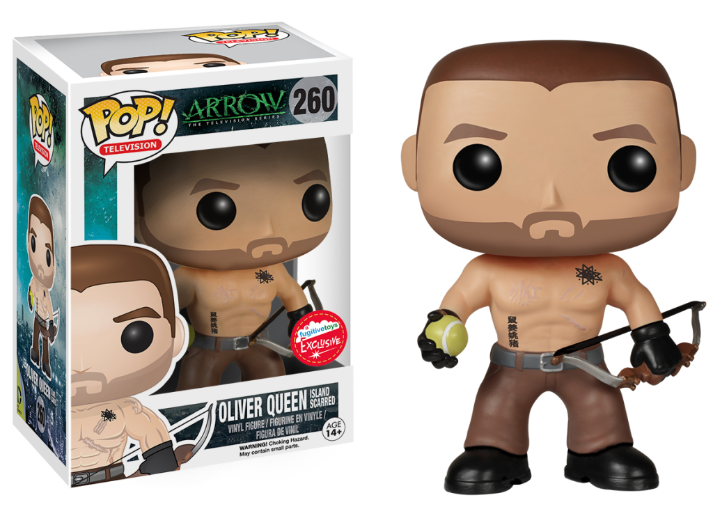 Island Scarred Oliver Queen Exclusive Comes To Fugitive