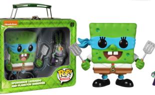Spongebob Leonardo and Shredder Plankton [SDCC 2014]