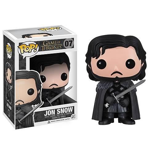 Game of Thrones Jon Snow throne Vinyl Action Figure POP 38# Funko Pop