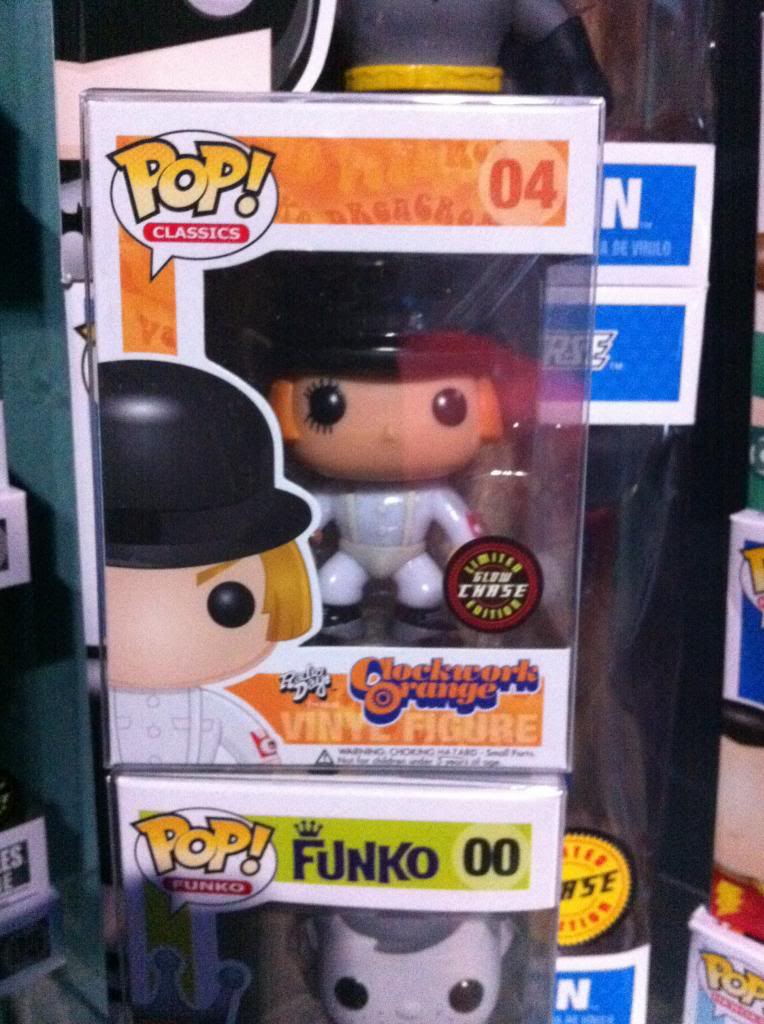 Clockwork Orange Alex Delarge Funko Pop Vinyl Preorders