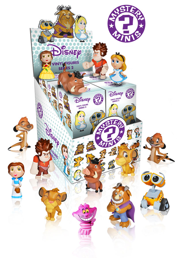 Disney Mystery Minis Series 2 Release Information