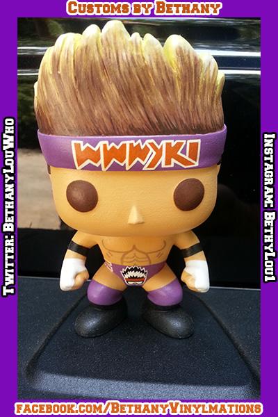 Wwe S Zack Ryder Custom Funko Pop By Bethany Norris