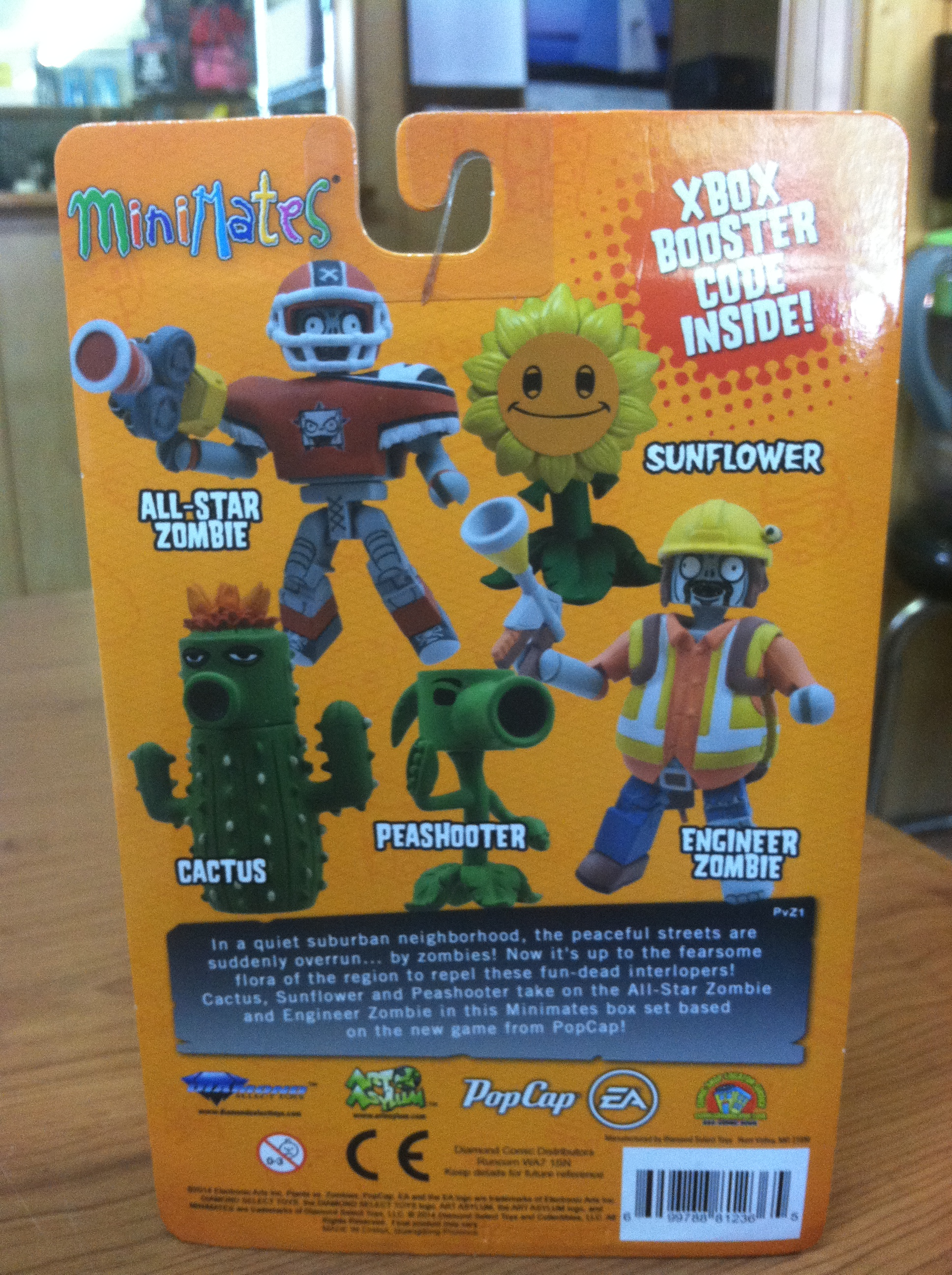 New This Week Plants vs Zombies Minimates by Diamond Select