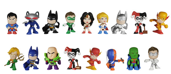 Updated W Ratios Dc Super Heroes Mystery Minis Coming