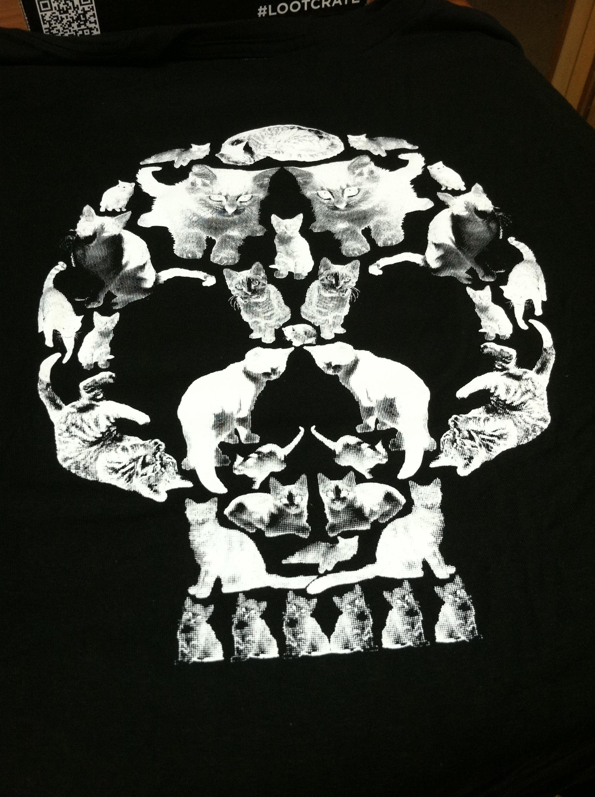 """Death by Kitten Shirt """"death to Kitten"""" T-shirt"""