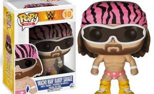 #10 - Macho Man Randy Savage Pink Bandana [WWE.com]