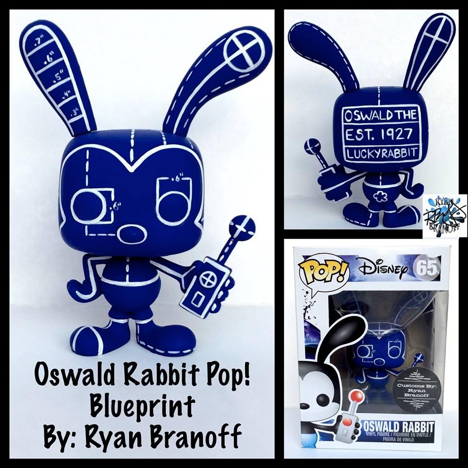 Custom blueprint oswald pop by ryan branoff up for auction blueprintoswald malvernweather Gallery