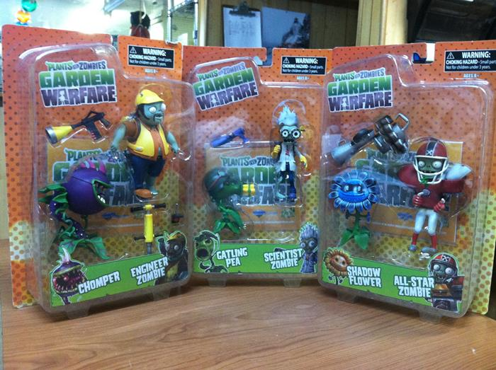 Holiday Gift Spotlight Plants Vs Zombies Garden Warfare Action Figures Popvinyls Com
