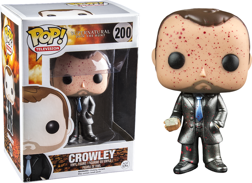 Popcultcha Reveals Two New Supernatural Crowleys