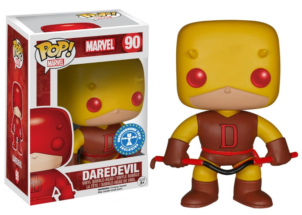 Daredevil Pop Vinyls Coming Soon To Underground Toys And