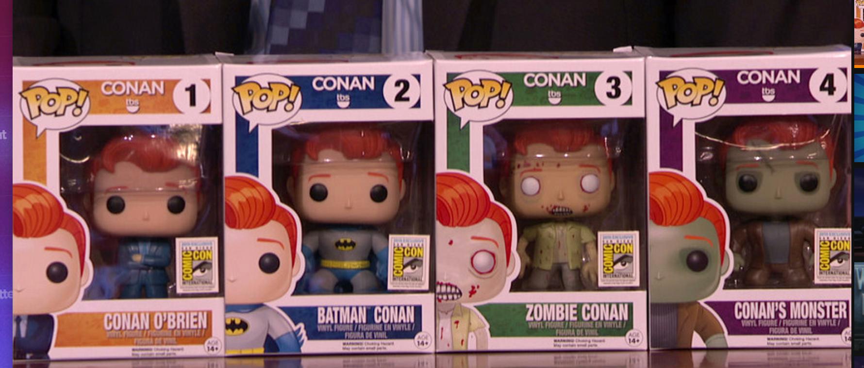 Conan O Brien Funko Pop Vinyls Are Coming Soon