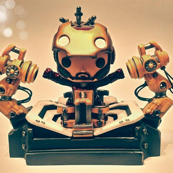 Custom Corner I Am Iron Man Popvinyls Com