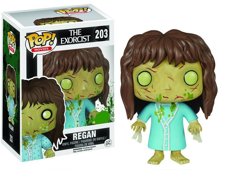 The Exorcist Regan Pop Vinyl Will Make Your Head Spin