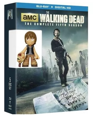 Exclusive Daryl Dixon Mystery Mini Packaged with Walking