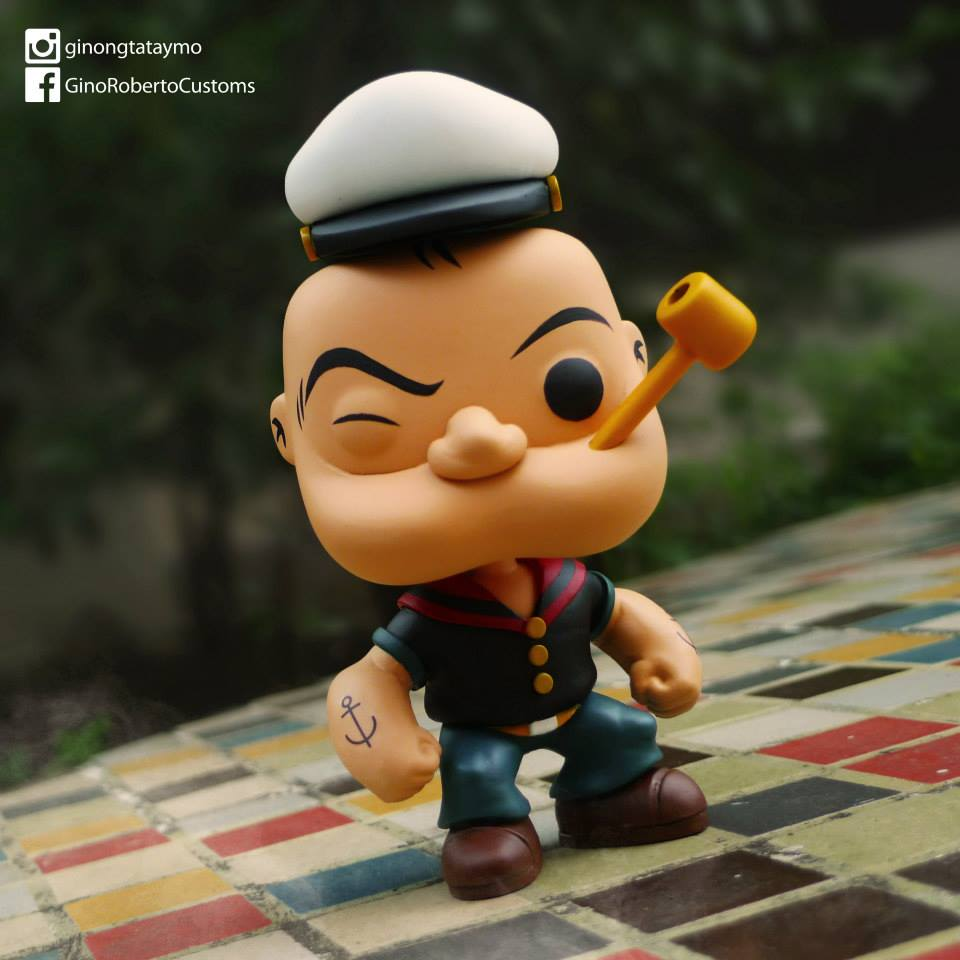 Custom Corner: Popeye the Sailor Man