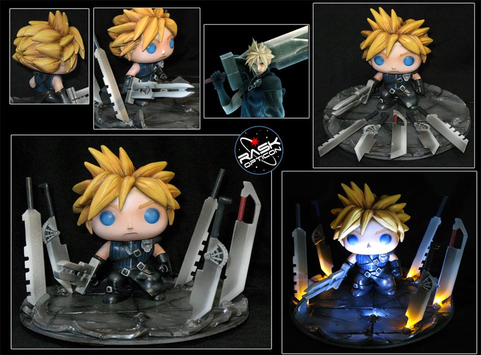 Custom Corner Final Fantasy S Cloud Strife Popvinyls Com