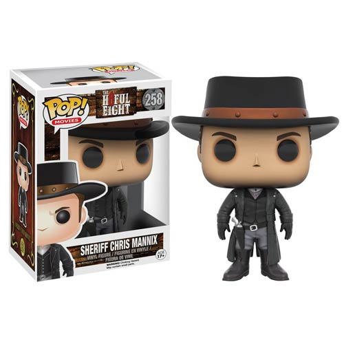Hateful Eight Pop Vinyls Now Available For Preorders
