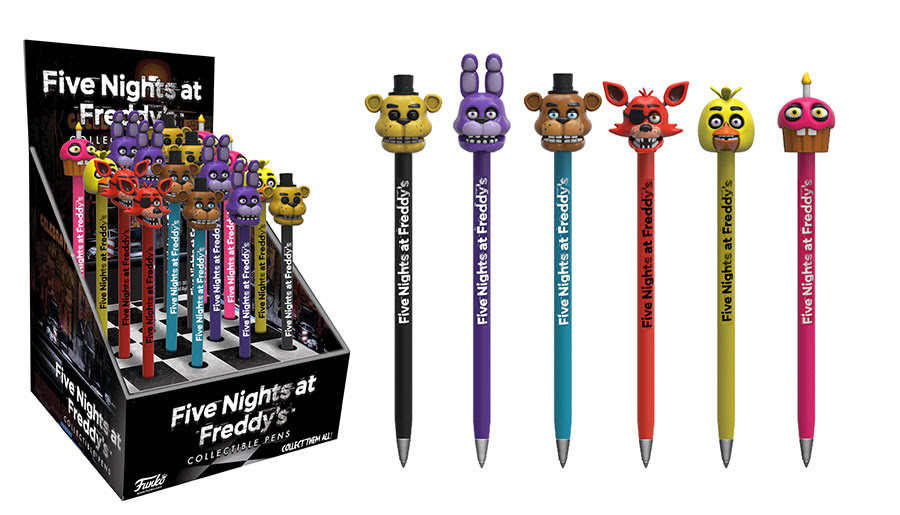 First Look: Five Nights at Freddy\u0026#39;s Funko Merch! - POPVINYLS.COM