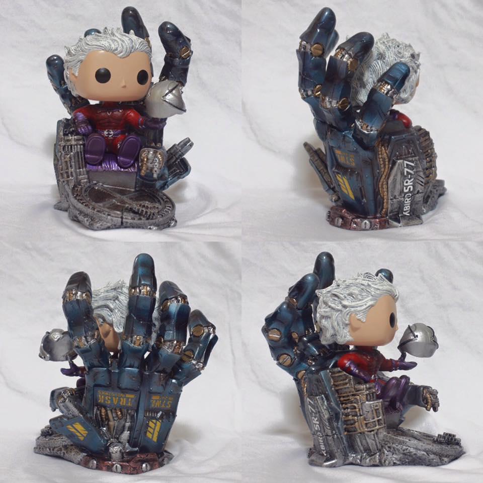 Custom Corner: Magneto's Iron Throne
