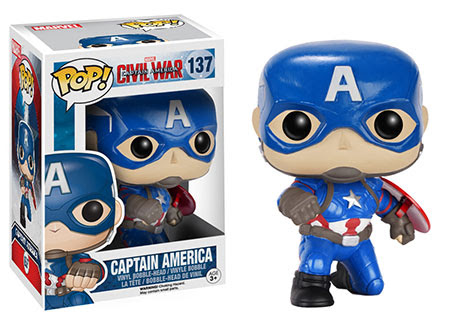 Captain america gamestop exclusive funko