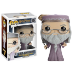 Albus Dumbledore with Wand Pop Vinyls