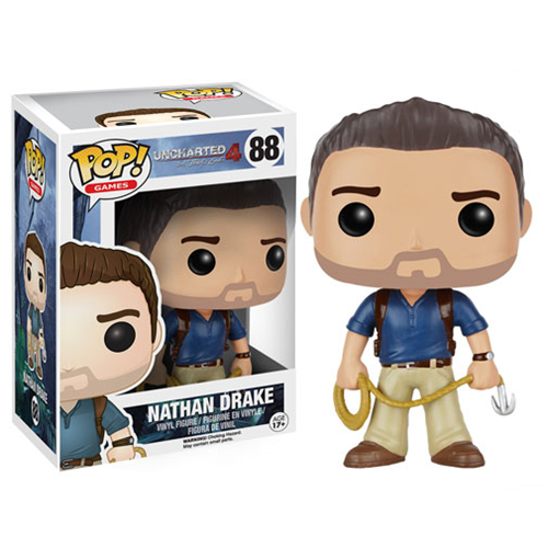 New Call Of Duty And Uncharted Pop Vinyls Available