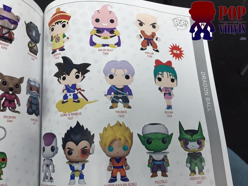 Heads Up Funko Dbz Collectors New Pops Incoming Dbz