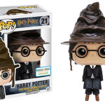 Harry Potter with Sorting Hat Pop VInyls