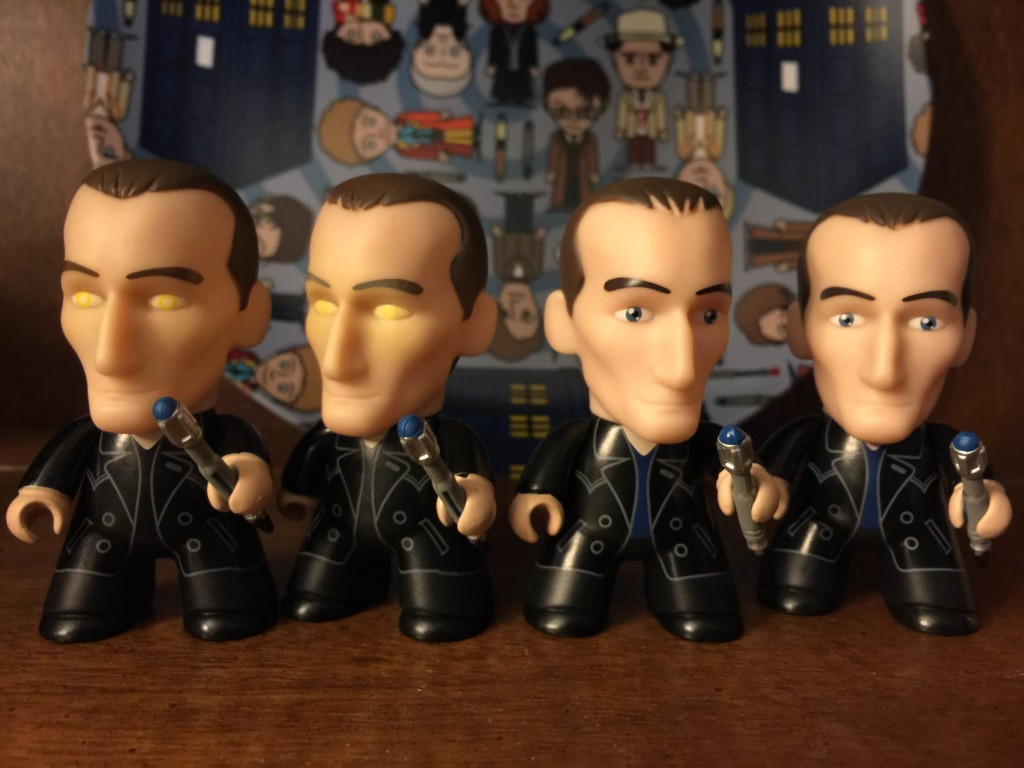 Doctor Who Titans The Fantastic Collection Vinyl Figures 9th Gold Eyes 2//20