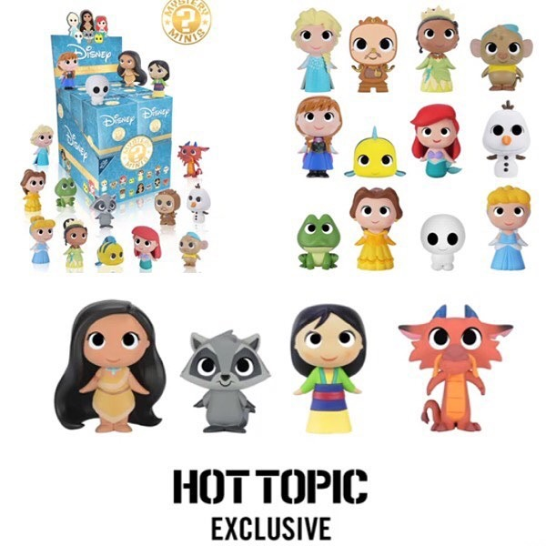 First Look At Hot Topic Disney Princess Mystery Mini