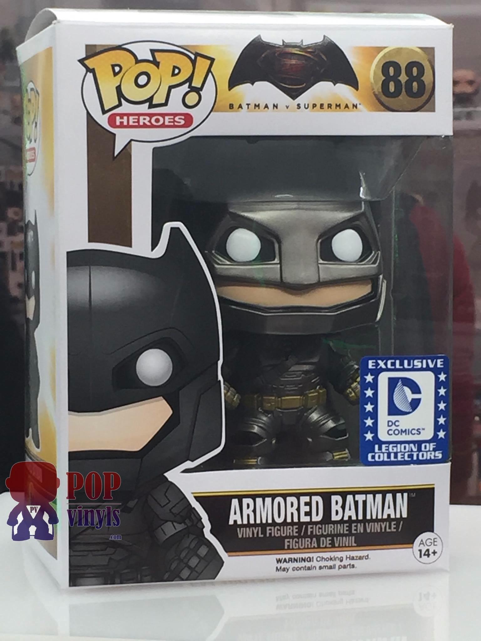 Batman V Superman Ultimate Funko Checklist Popvinyls Com