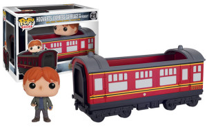 Ron with Hogwarts Express Pop Vinyls
