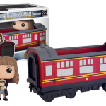 Hermione with Hogwarts Express Car Pop Vinyls