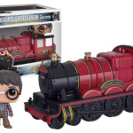 Harry and Hogwarts Express Engine Pop Vinyls