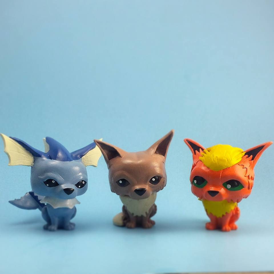 Custom Corner: Eeveelution