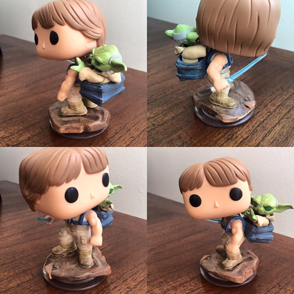 Custom Corner: Training in Dagobah