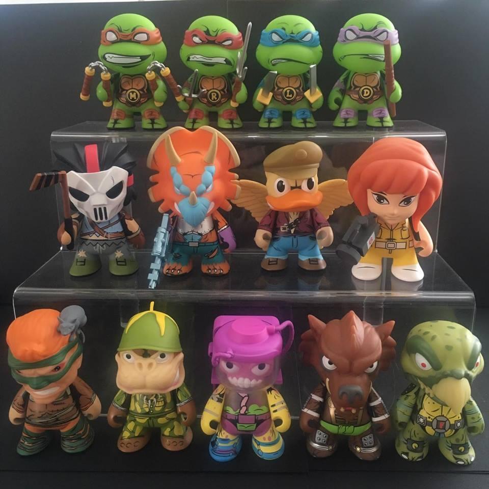 "2016 Kidrobot-Teenage Mutant Ninja Turtles Shell Shock ""Donatello"""