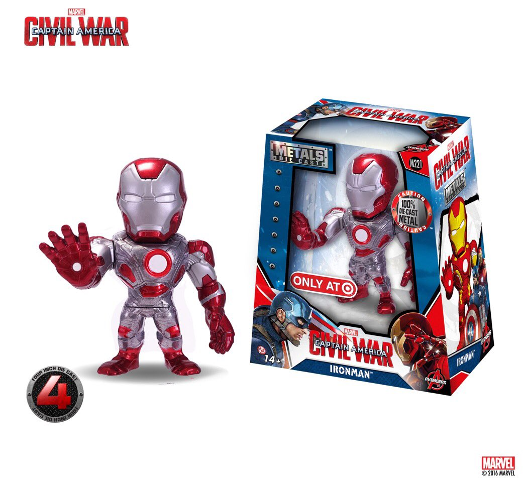 Man Candy Monday 2 Casting Heroes: Target Exclusive Metals Die Cast Figures Coming In