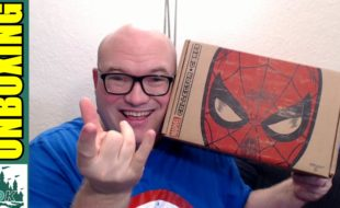 spiderman collector corps unboxing