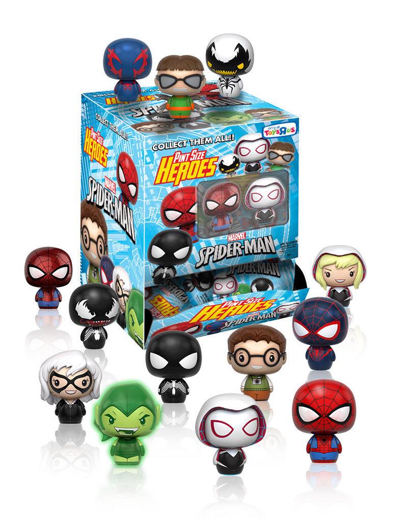 spidermanpintsizeheroeshottopic