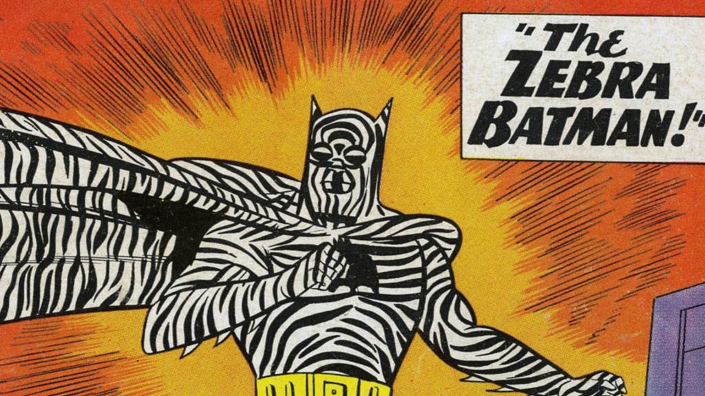 Bullseye Batman And Zebra Batman Combo Pack Coming To Hot