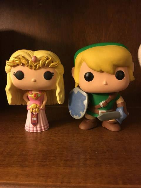 Custom Corner: Wedding Bells for Zelda and Link