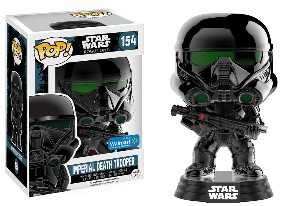 Full Line Of Rogue One Pop Vinyls Now Revealed
