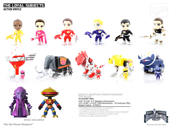 The Loyal Subjects Preview Of Mmpr Series 2 Popvinyls Com