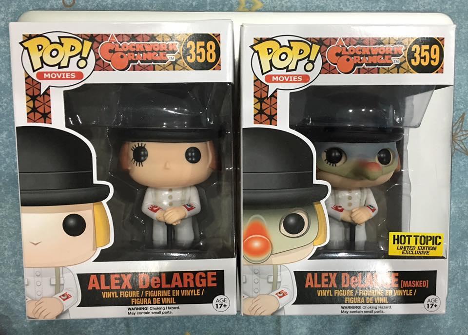 POP Movies Alex Vinyl Collectible Action Figure Toy Clockwork Orange
