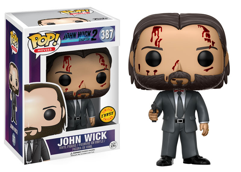 John Wick And A Bloody Chase Pop Vinyl Coming Soon