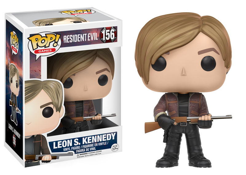 Resident Evil And Witcher Pops Join The Funko Games Line POPVINYLS