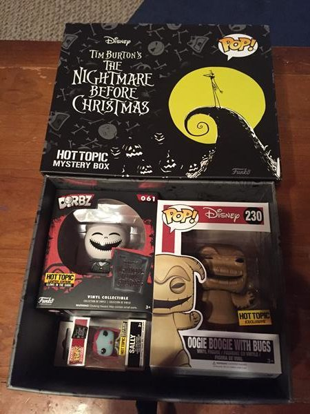 Nightmare Before Christmas Black Friday Funko Review (Hot Topic ...