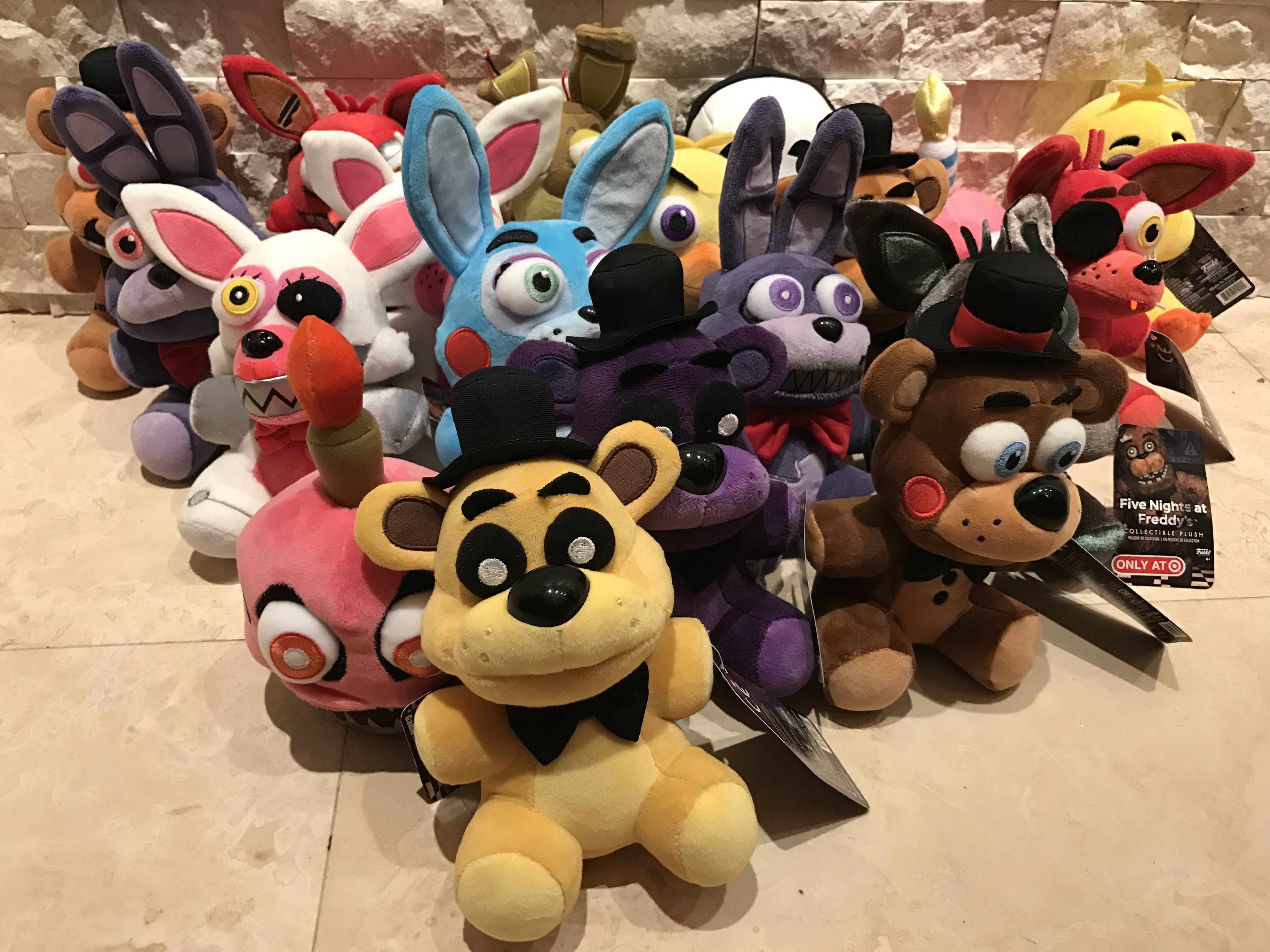 Five Nights At Freddy S Funko Plush Exclusives So Far